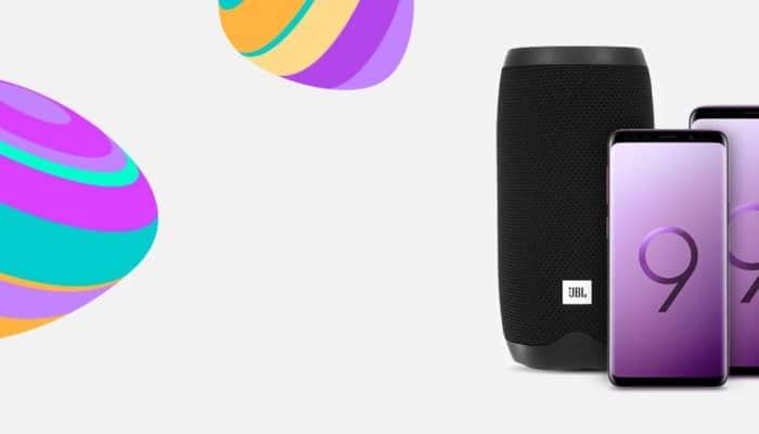 Smarttelefoner med JBL høytaler
